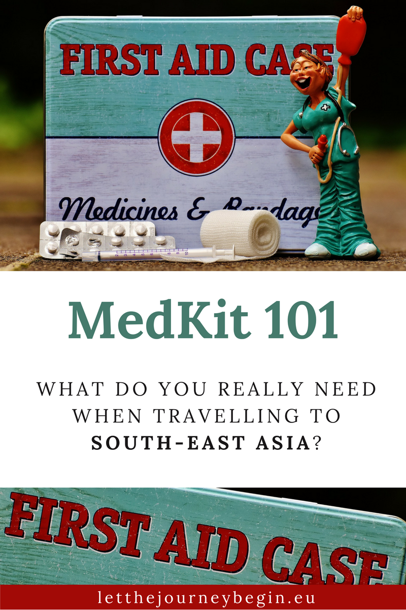From mosquito repellent to medicines, this is what you really need when travelling to South East Asia
