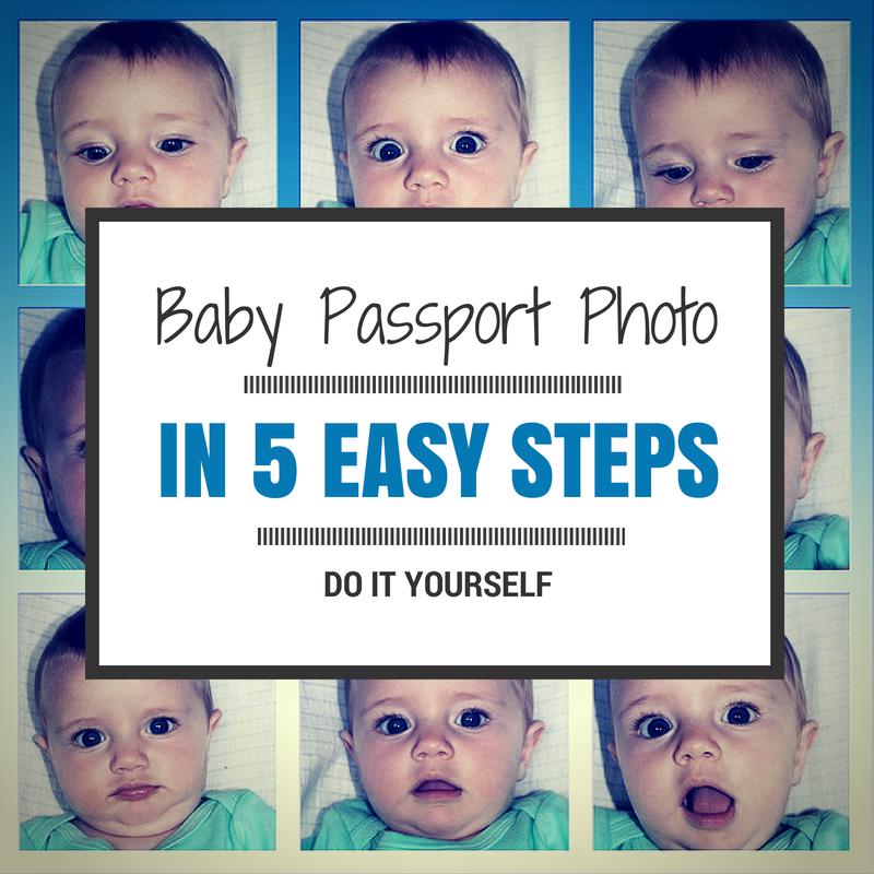 Baby Passport Photo