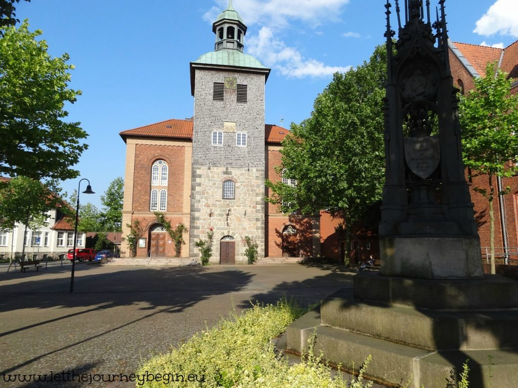 Monastery church in the little town of Walsrode