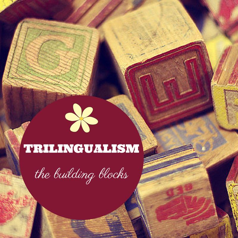 Trilingual family - the building blocks