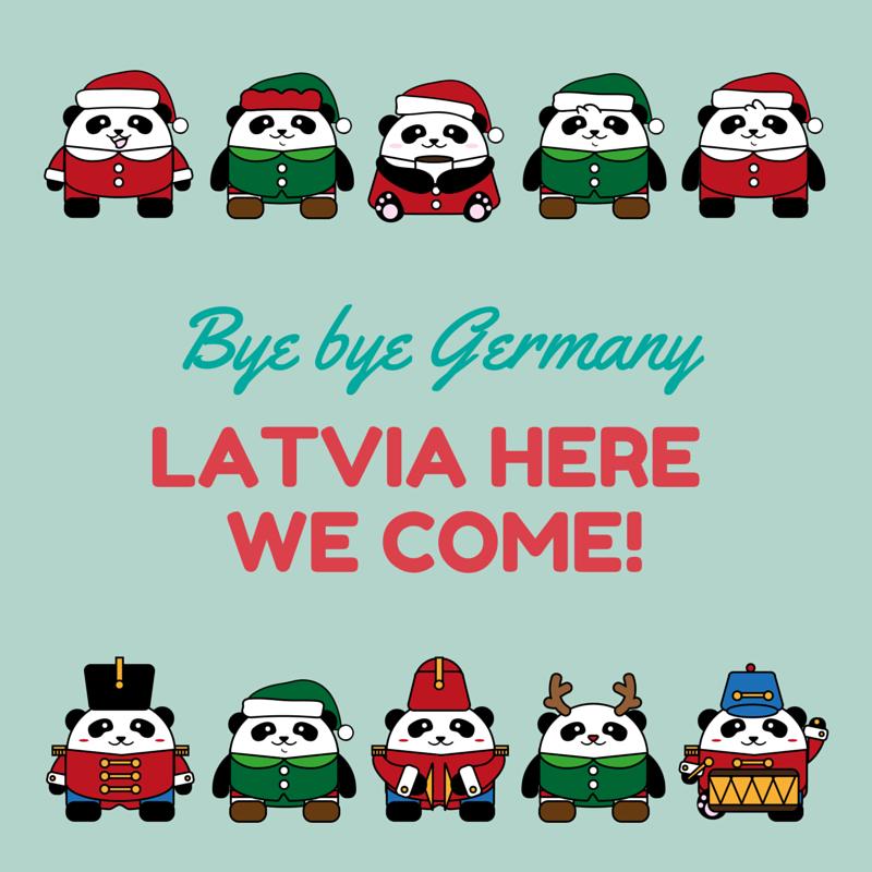 Latvia here we come!