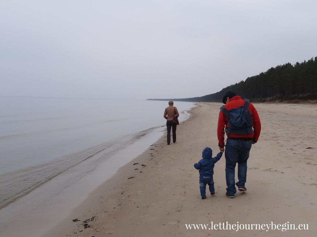 Latvian seaside