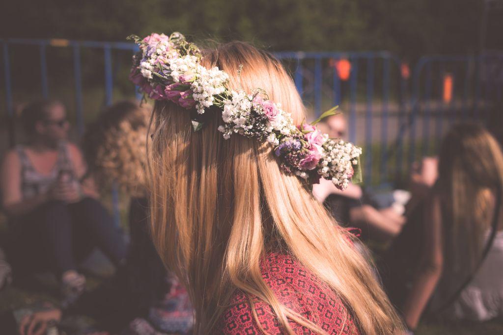 Midsummer in Latvia   wildflower wreaths