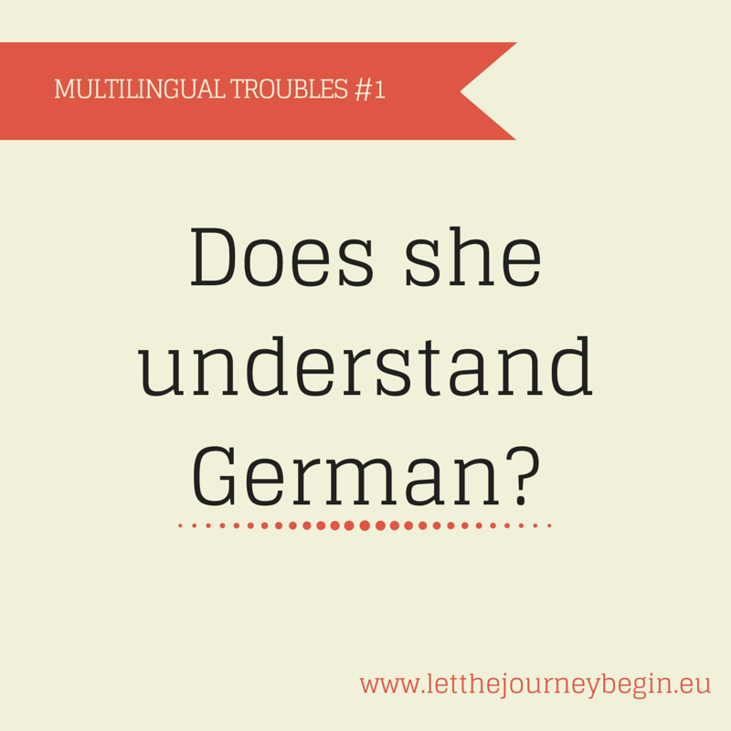 Multilingual troubles