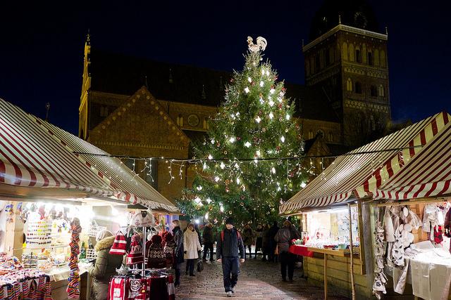 Christmas tree Riga