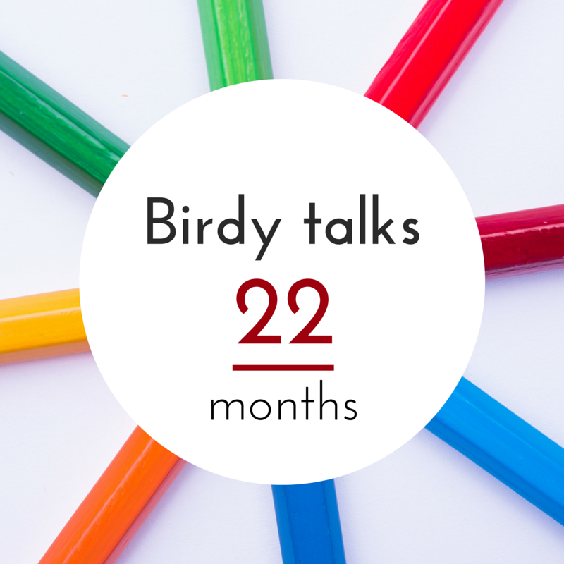 Birdy's language progress