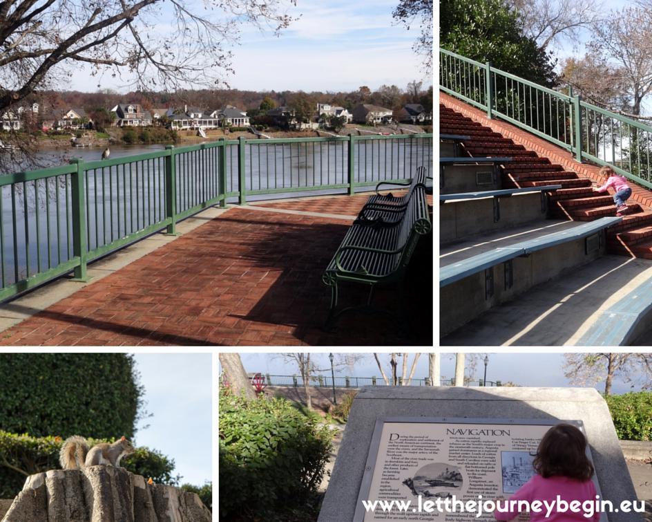 Augusta Riverwalk sights
