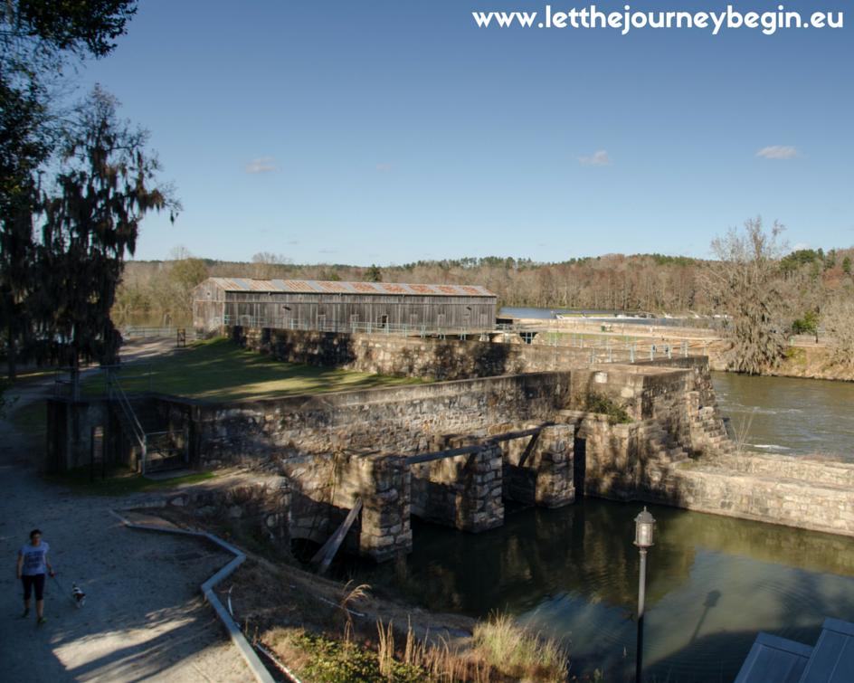 Savannah Rapids Headgates