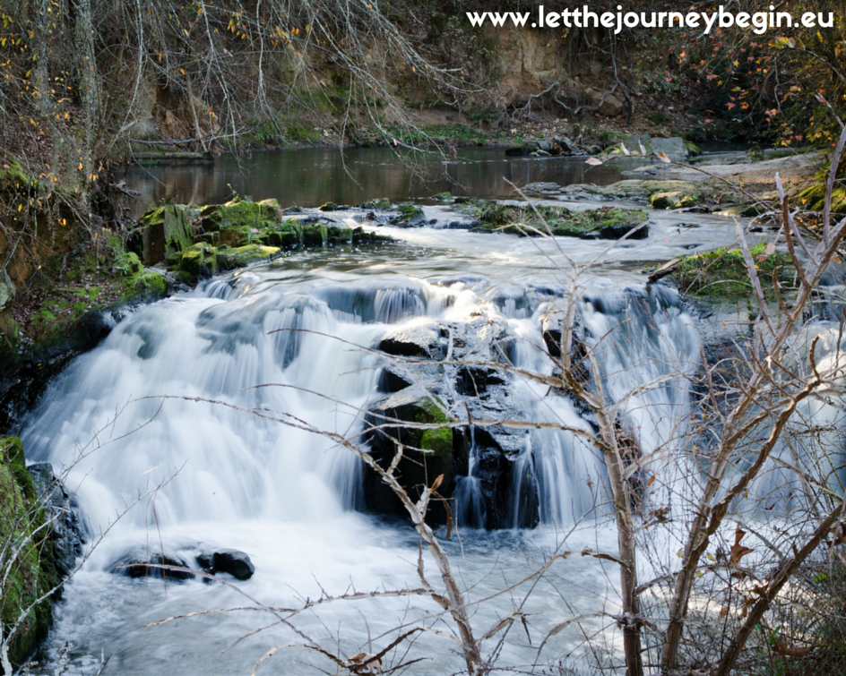 Savannah Rapids waterfall