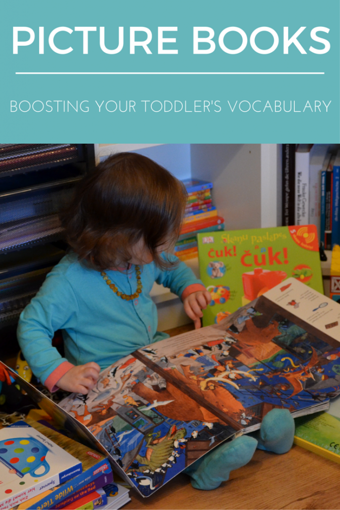 Picture books - boosting vocabulary