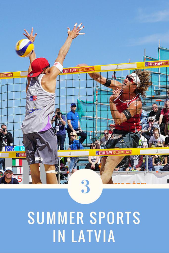 Summer Sports in Latvia