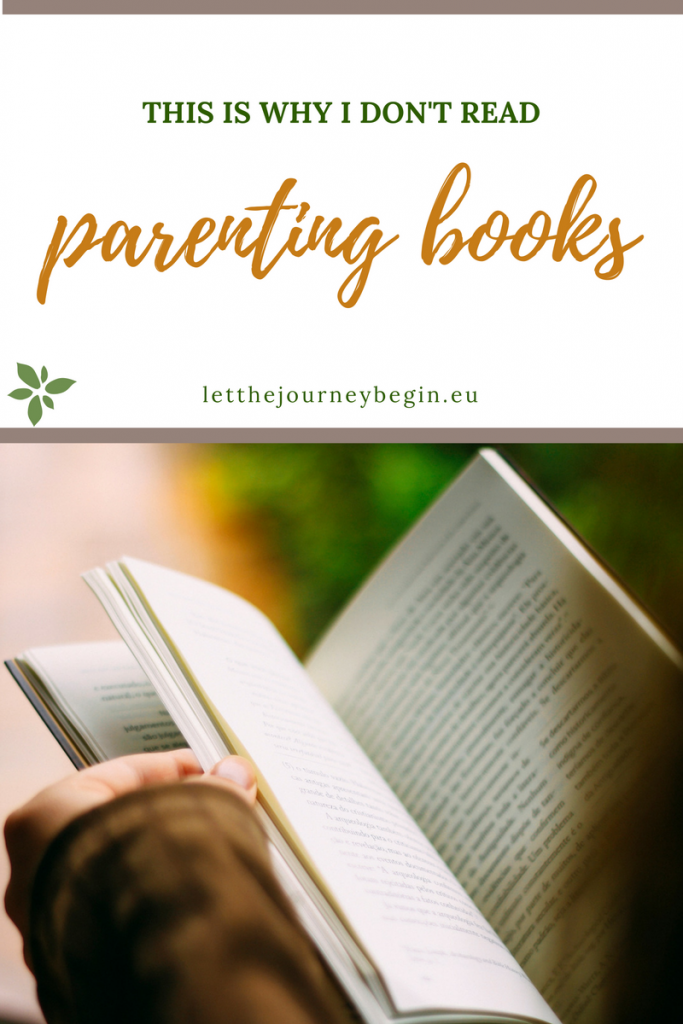 why I don't read parenting books