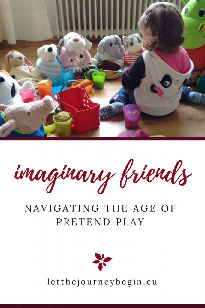 imaginary friends and pretend play