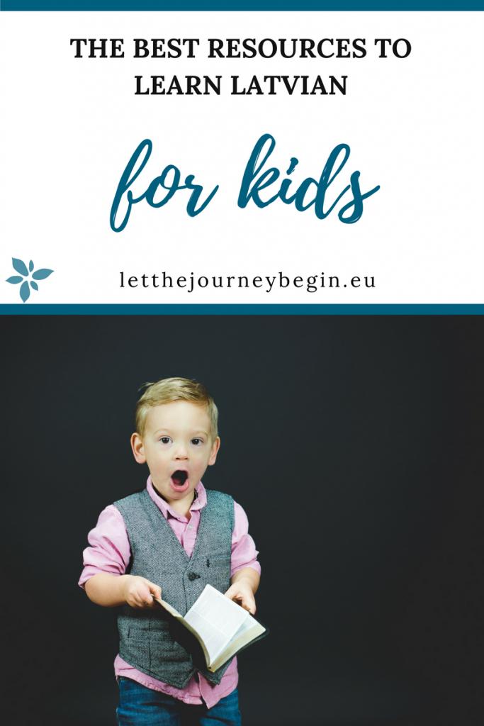 learning Latvian for kids