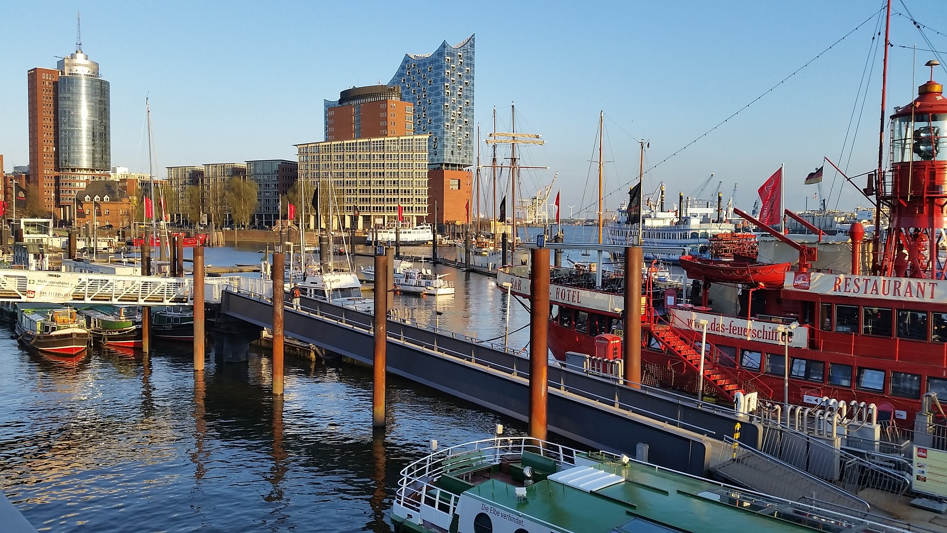 Everything you need to know when visiting Hamburg - the famous harbour