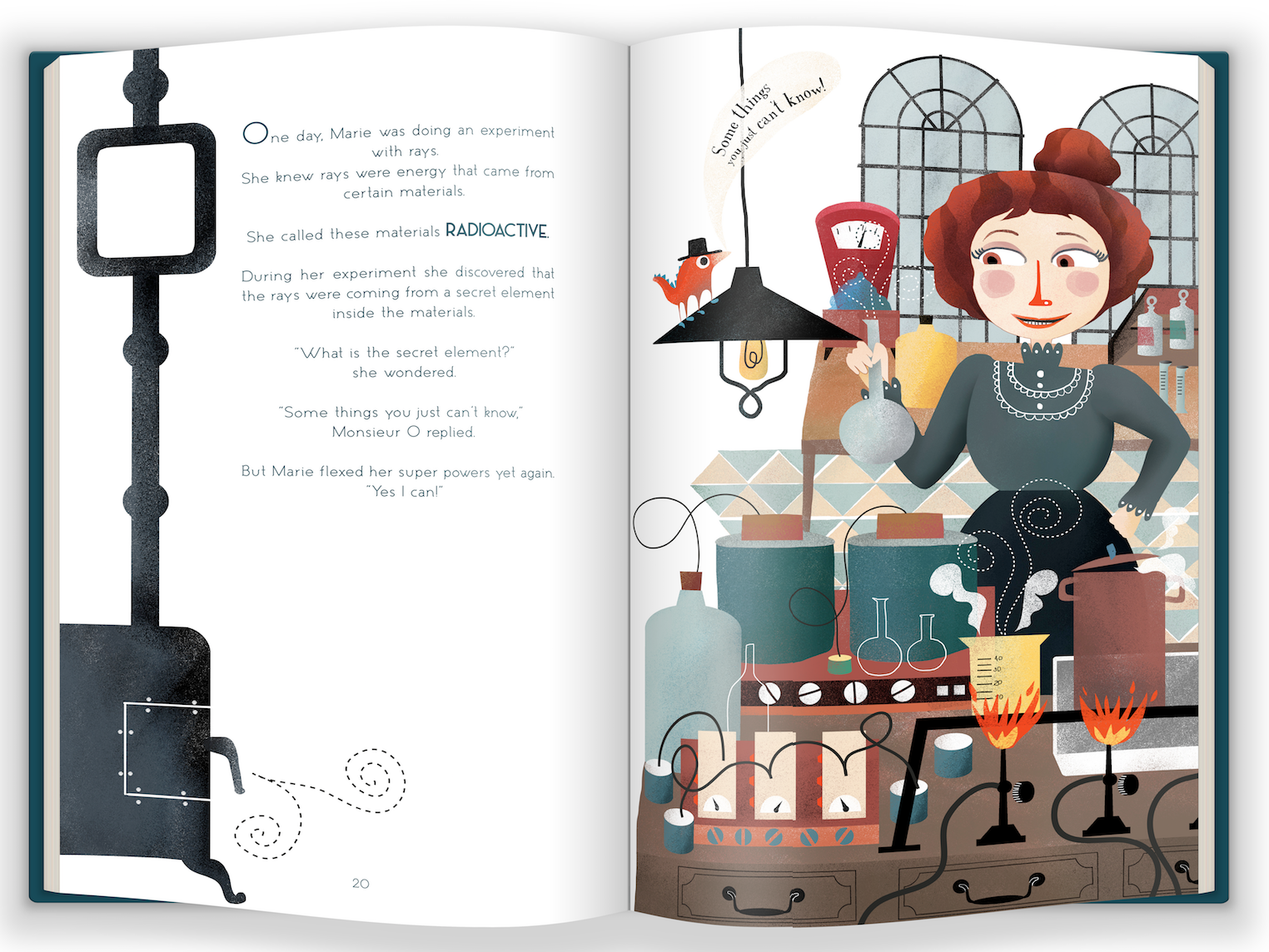 Marie Curie and the Power of Persistence now available on IndieGoGo