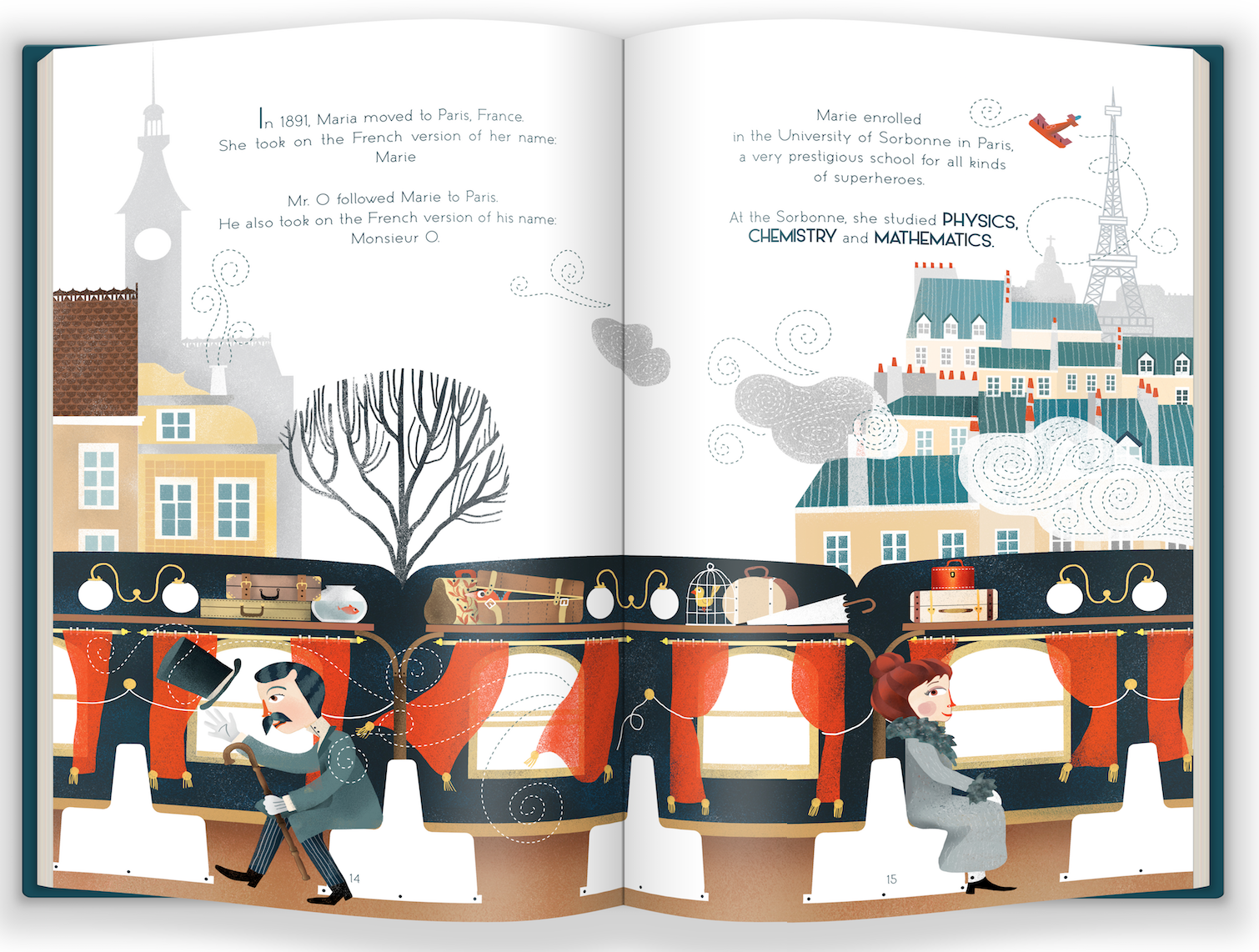Marie Curie and the Power of Persistence book mockup