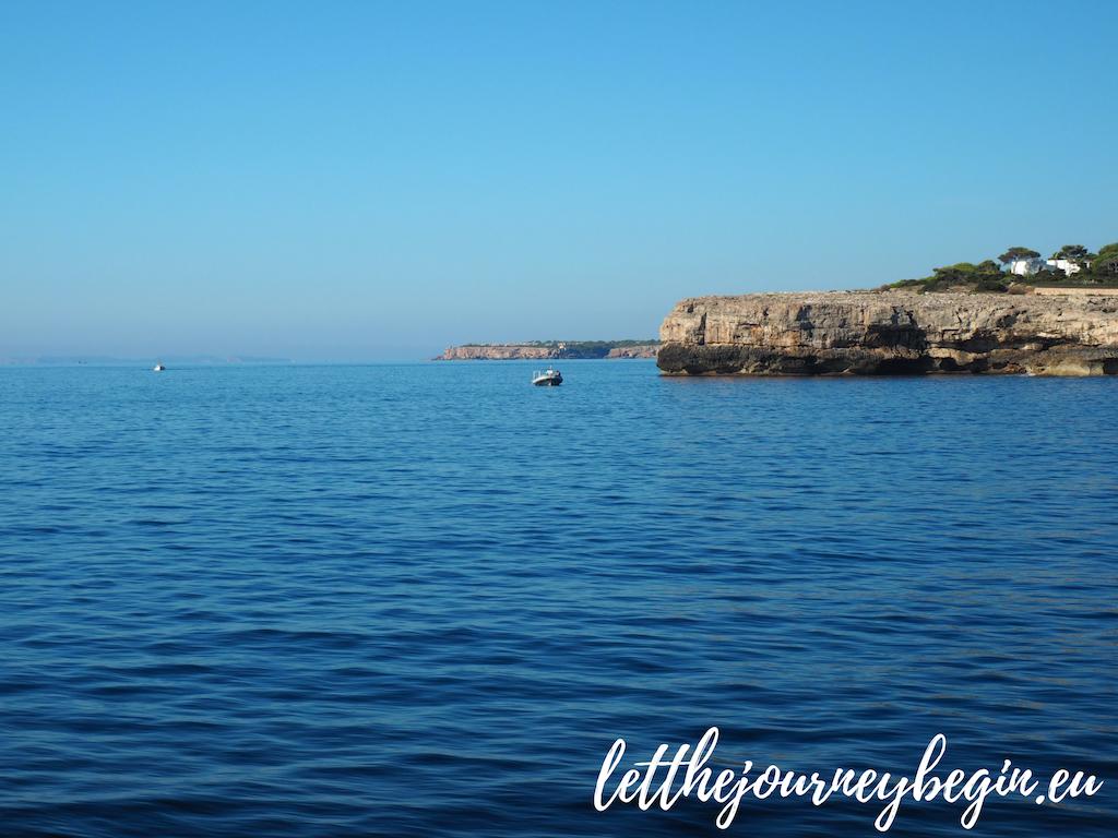 Cliffs near Cala d'Or