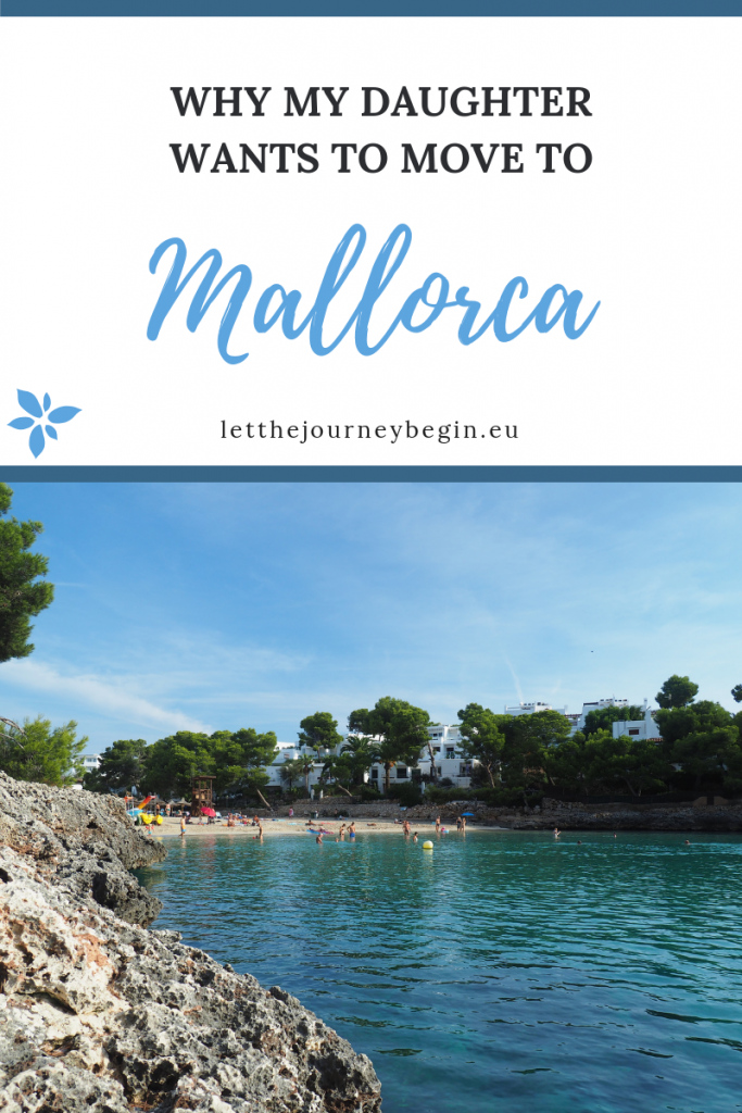 Pinnable image - why my daughter wants to move to Mallorca