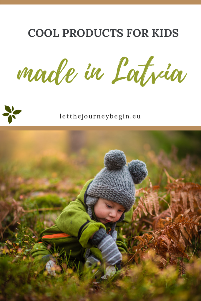 products for kids made in Latvia